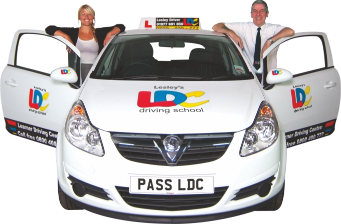 LDC driving instructor car livery