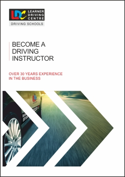 LDC become a driving instructor download brochure